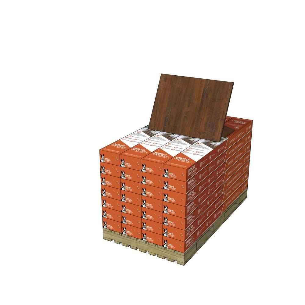 Pergo Outlast+ Auburn Scraped Oak 10 mm Thick x 6-1/8 in. Wide x 47-1/4 in. Length Laminate Flooring (451.36 sq. ft. / pallet)
