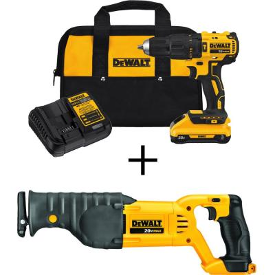DEWALT 20-Volt MAX Lithium-Ion Cordless Reciprocating Saw (Tool-Only