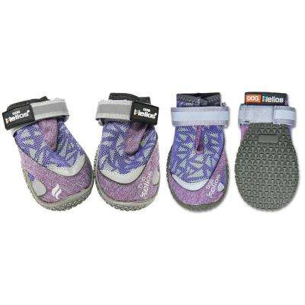 X-Small Purple Surface Premium Grip Performance Dog Shoes