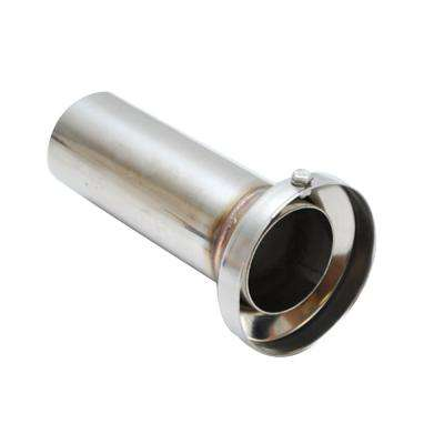 3.90in OD Low Inner Silencer Muffw/ 3.90in ID Single Wall Exh Tip2.5in OD Tuning Tube