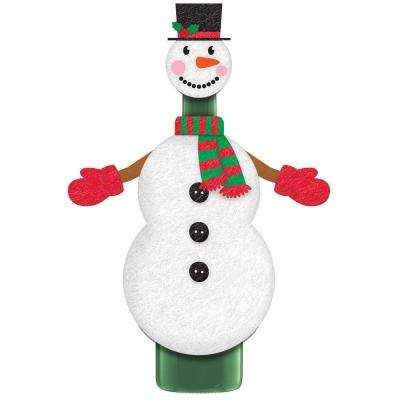 Christmas Snowman Bottle Cover (3-Pack)