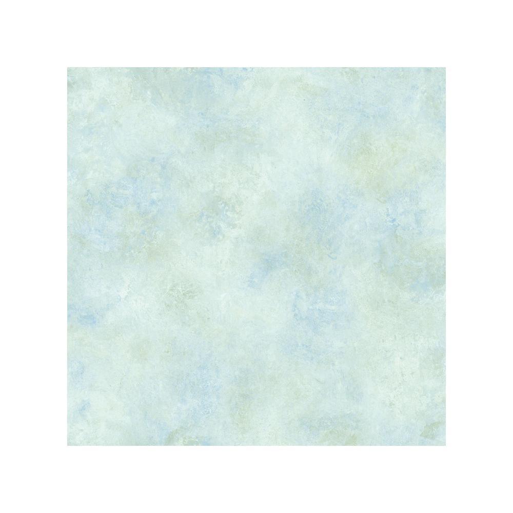 Whisper Sky Blue Scroll Texture Wallpaper Sample