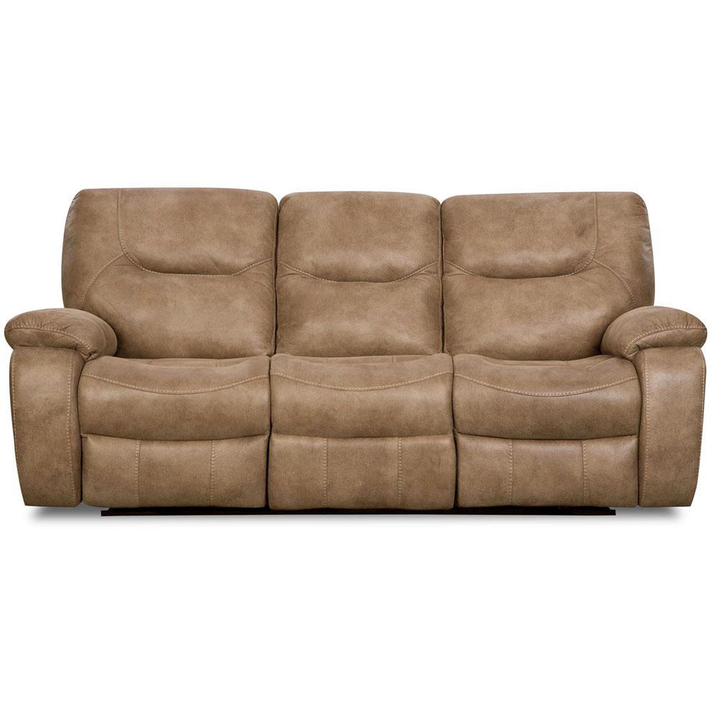 Cambridge Sand Brown Sofa Loveseat Set