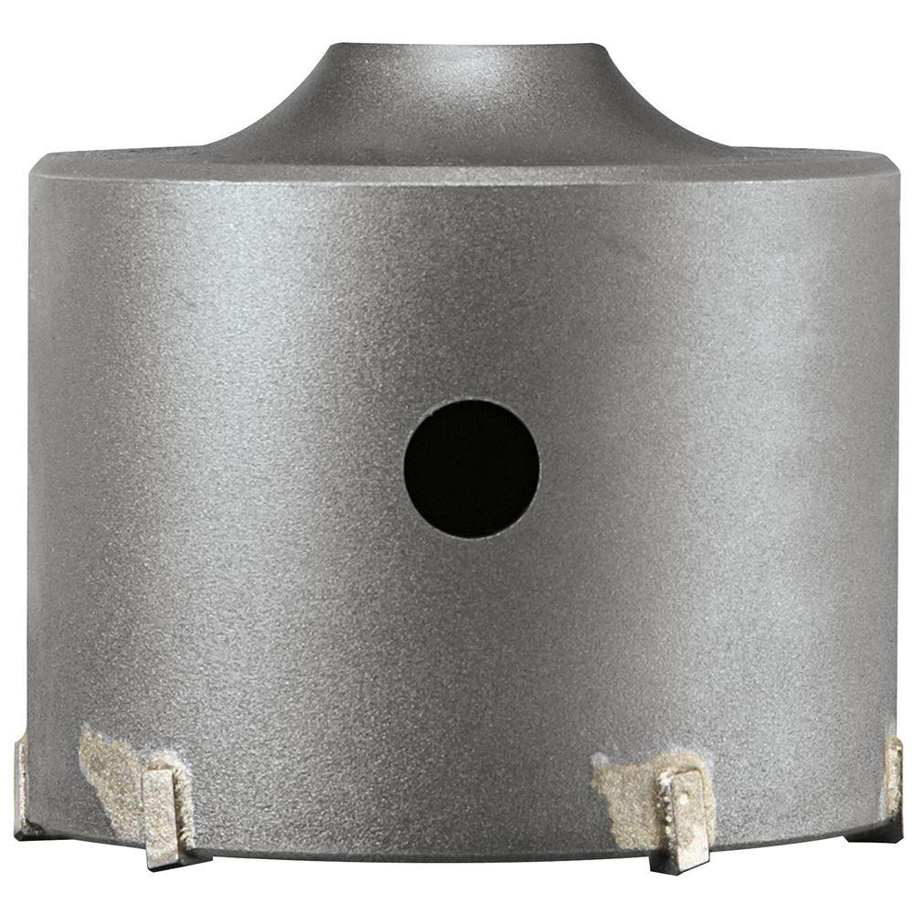 Bosch 4-3/8 in. SDS-plus SPEEDCORE Thin-Wall Core Bit for Removal of Masonry, Brick, and Block