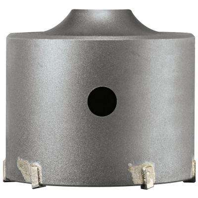 4-3/8 in. SDS-plus SPEEDCORE Thin-Wall Core Bit for Removal of Masonry, Brick, and Block