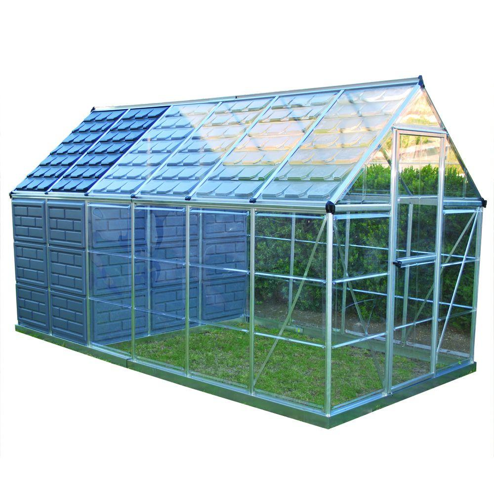 Palram Grow and Store 6 ft. x 12 ft. Greenhouse