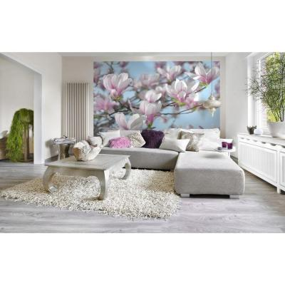 100 in. x 145 in. Magnolia Wall Mural