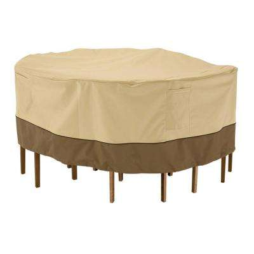 Veranda Medium, Round Patio Table and Chair Set Cover
