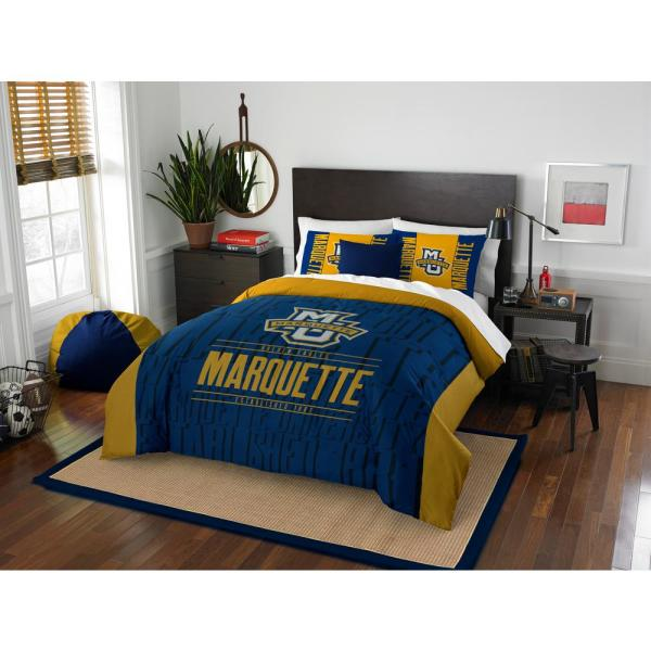 Marquette 3 PC Modern Take MULTI FULL /QUEEN Comforter Set 1COL849000115RET