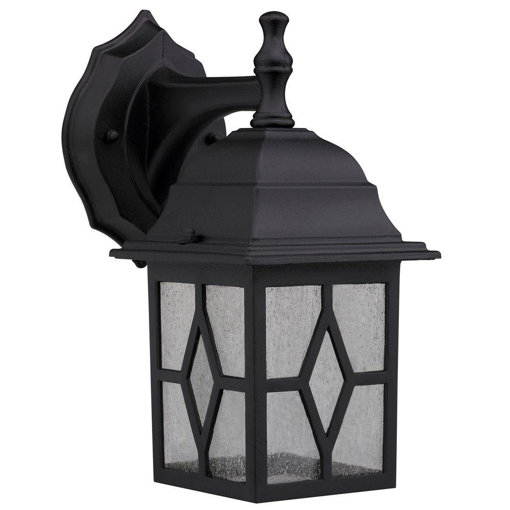 Chloe Lighting Transitional 10.25 in. Outdoor Black Wall Sconce Light-DISCONTINUED