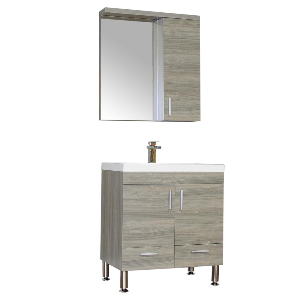 30 inch vanities bathroom vanities bath the home depot - Home depot bathroom vanity countertops ...