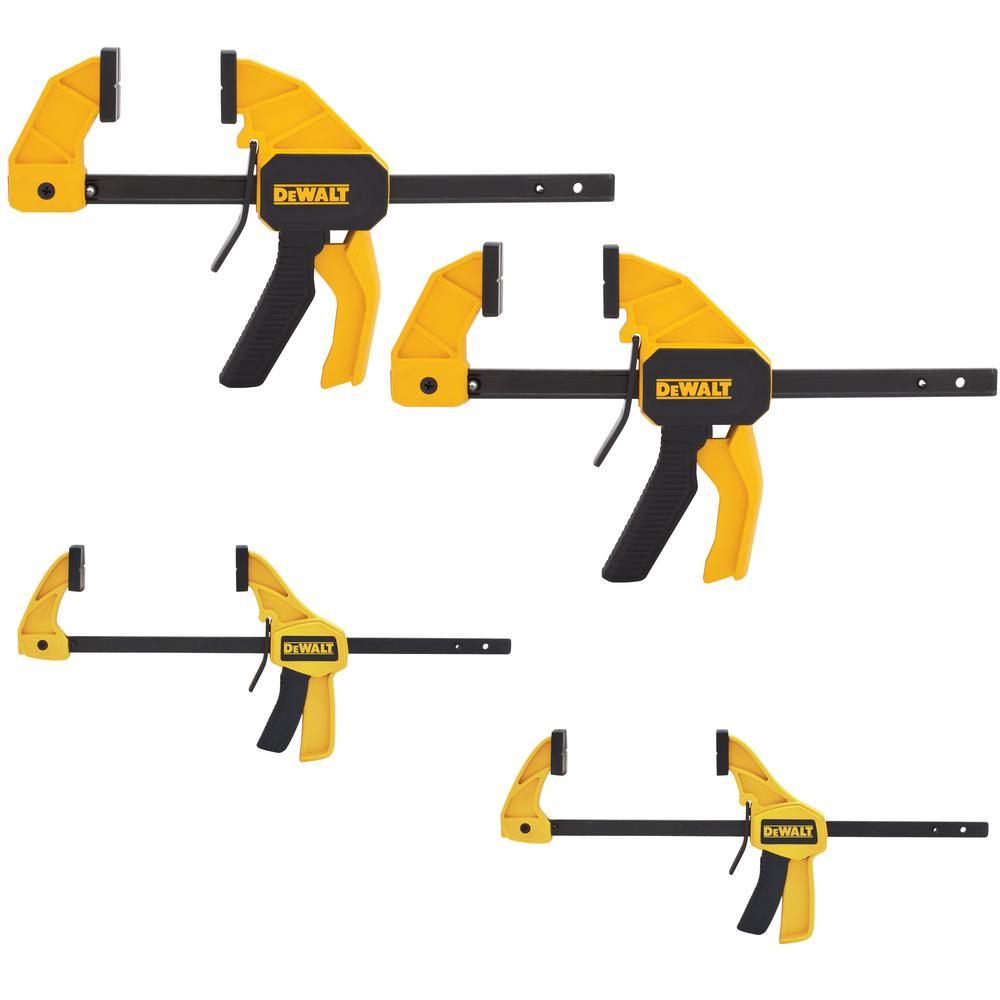 DEWALT Trigger Clamp Set (4-Piece)