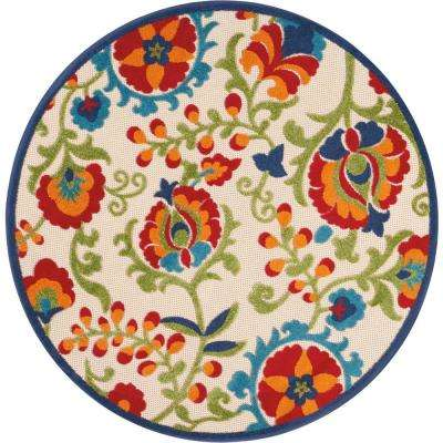 Round - Round1\'-6\' - Outdoor Rugs - Rugs - The Home Depot