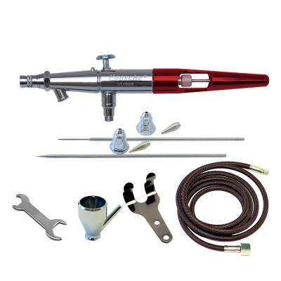 Airbrush Set with Metal Handle and All Three Heads