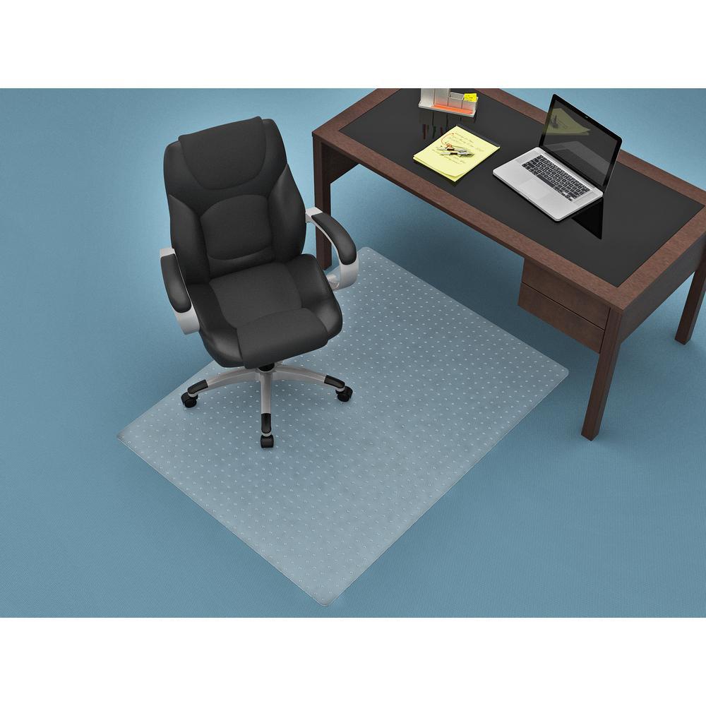 46 in. x 60 in. Clear Rectangular Chair mat
