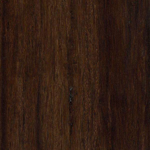 Distressed Strand Woven Harvest 3/8 in. x 5-1/8 in. Wide x 36 in. Length Click Lock Bamboo Flooring (25.625 sq.ft./case)