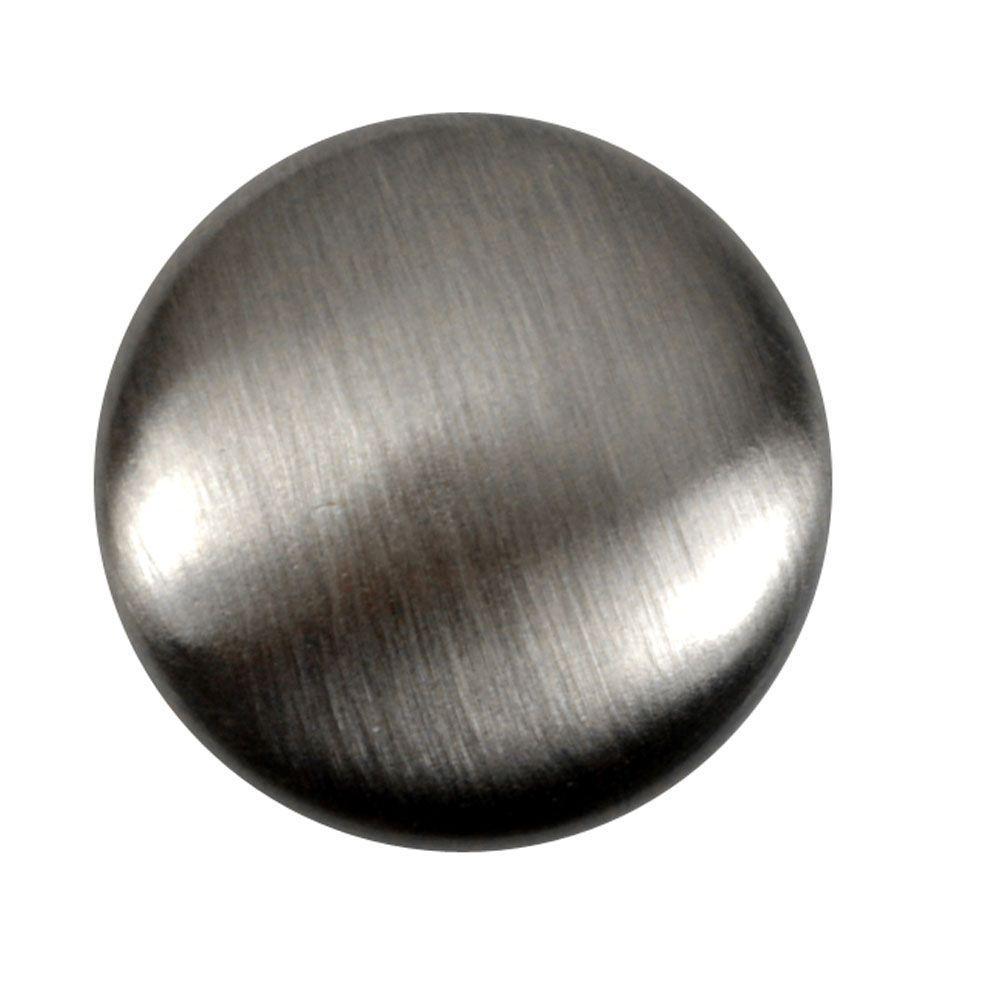 Copper Mountain Hardware 1-1/4 in. Antique Nickel Round Cabinet Knob