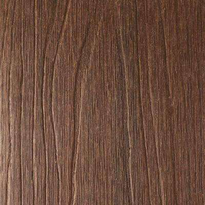 UltraShield Naturale Voyager 1 in. x 6 in. x 1 ft. Brazilian Ipe Hollow Composite Decking Board Sample