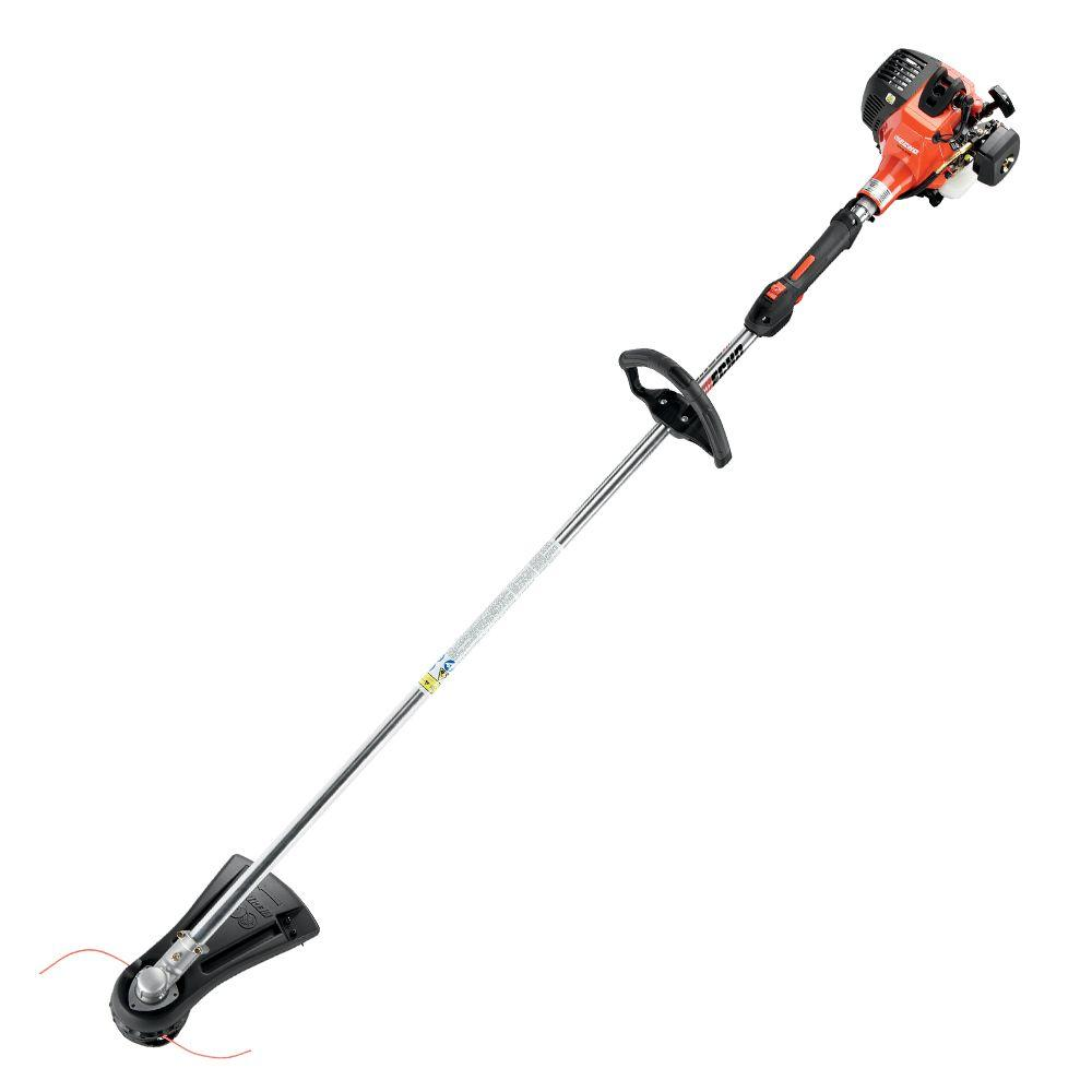 Echo 2 cycle 228cc straight shaft gas trimmer srm 230 the home echo 2 cycle 228cc straight shaft gas trimmer greentooth Choice Image