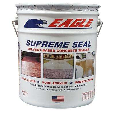 5 Gal. Supreme Seal Clear High Gloss Solvent-Based Acrylic Concrete Sealer