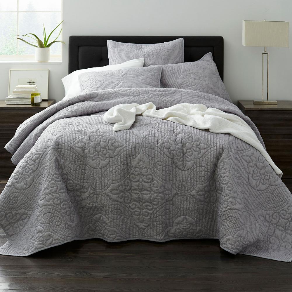 Majesty Mist Cotton Blend Quilt