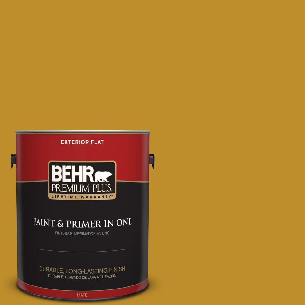 360d 7 Brown Mustard Flat Exterior Paint And