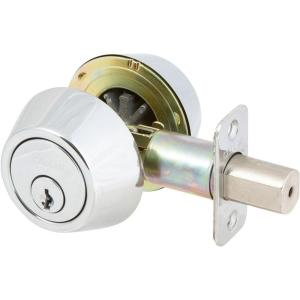 Delaney Callan Double Cylinder Polished Chrome Deadbolt by Delaney