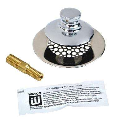 UnivNuFit-PP-Silicone and Combo Pin, Chrome Plated