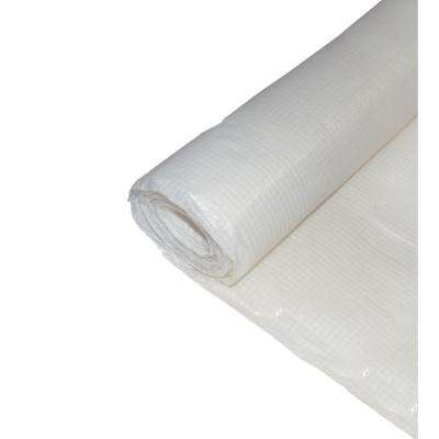 10 ft. x 100 ft. Woven Reinforced Flame Retardant Poly Sheeting