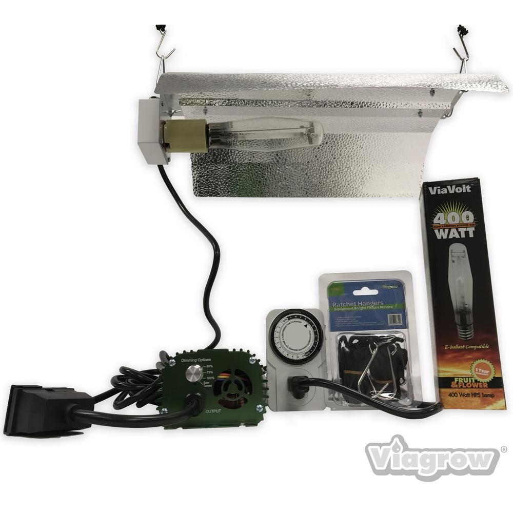 Viavolt 1 light 400 watt hpsmh white grow light system with timer viavolt 1 light 400 watt hpsmh white grow light system with timer arubaitofo Images