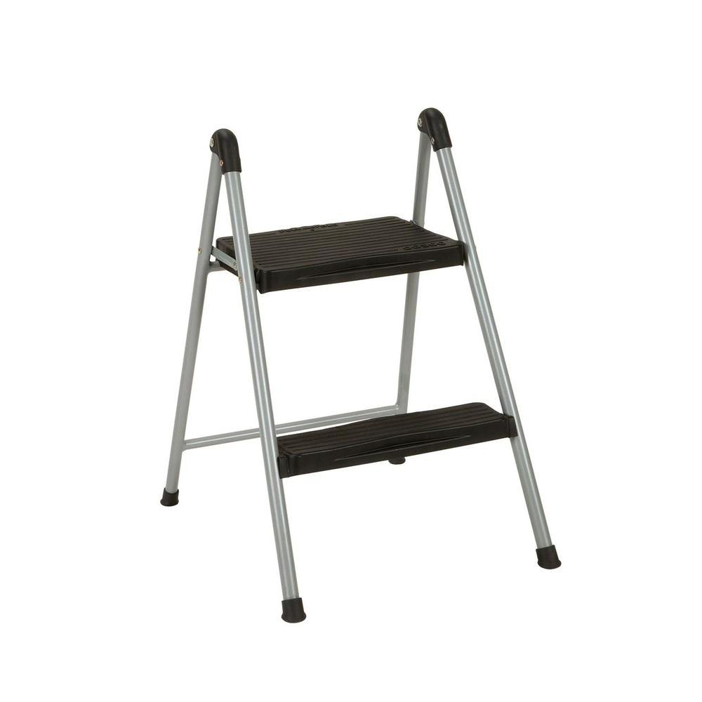 Cosco 2-Step Steel Step Ladder Stool without Handle-11024PBL1E - The Home Depot  sc 1 st  The Home Depot & Cosco 2-Step Steel Step Ladder Stool without Handle-11024PBL1E ... islam-shia.org