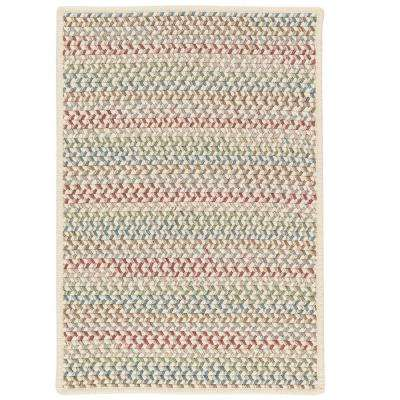 Parkside Spring Mix 2 ft. x 8 ft. Braided Runner Rug