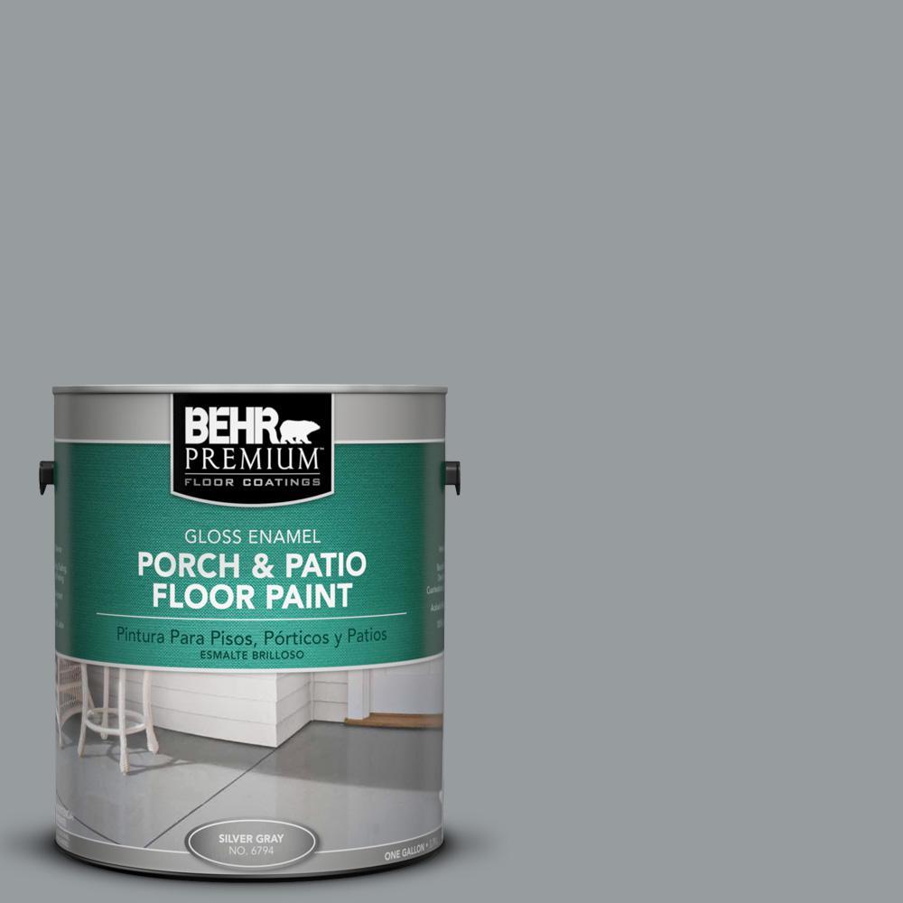 Behr premium 1 gal n500 4 pencil sketch gloss interior exterior porch
