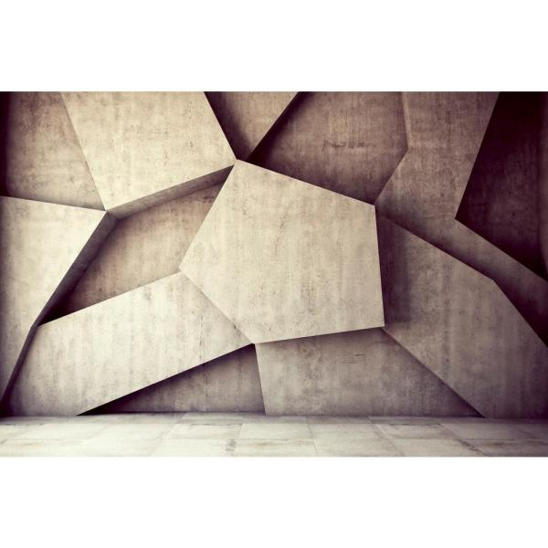 Scenic Concrete Background Landscapes Wall Mural