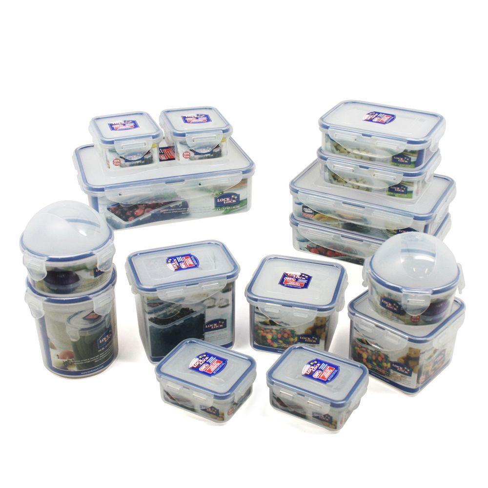 Lock and Lock 30 Pc. Food Storage Set-DISCONTINUED