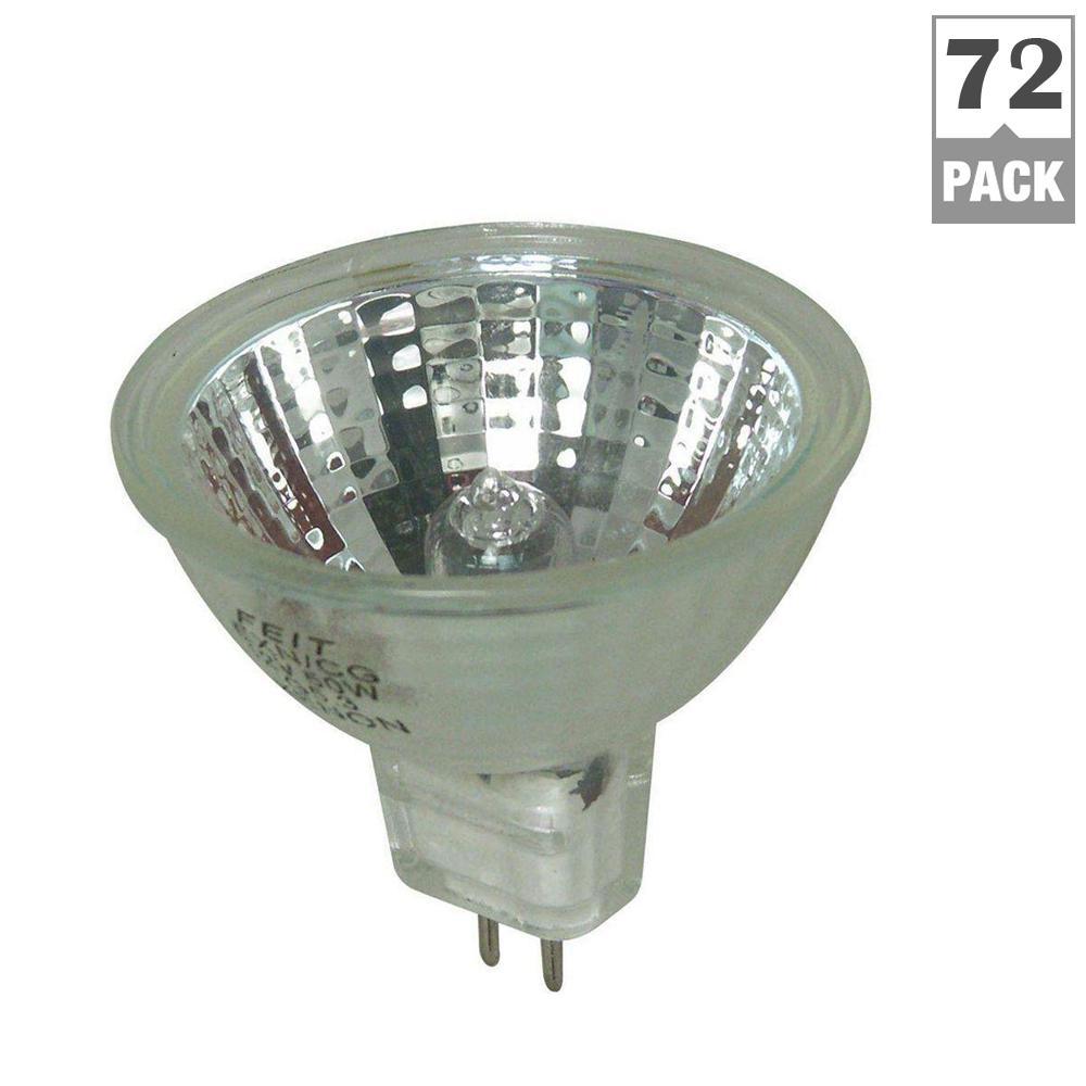 20-Watt Warm White (3000K) MR16 GU5.3 Bi-Pin Dimmable Halogen Light Bulb Maintenance Pack (72-Pack)