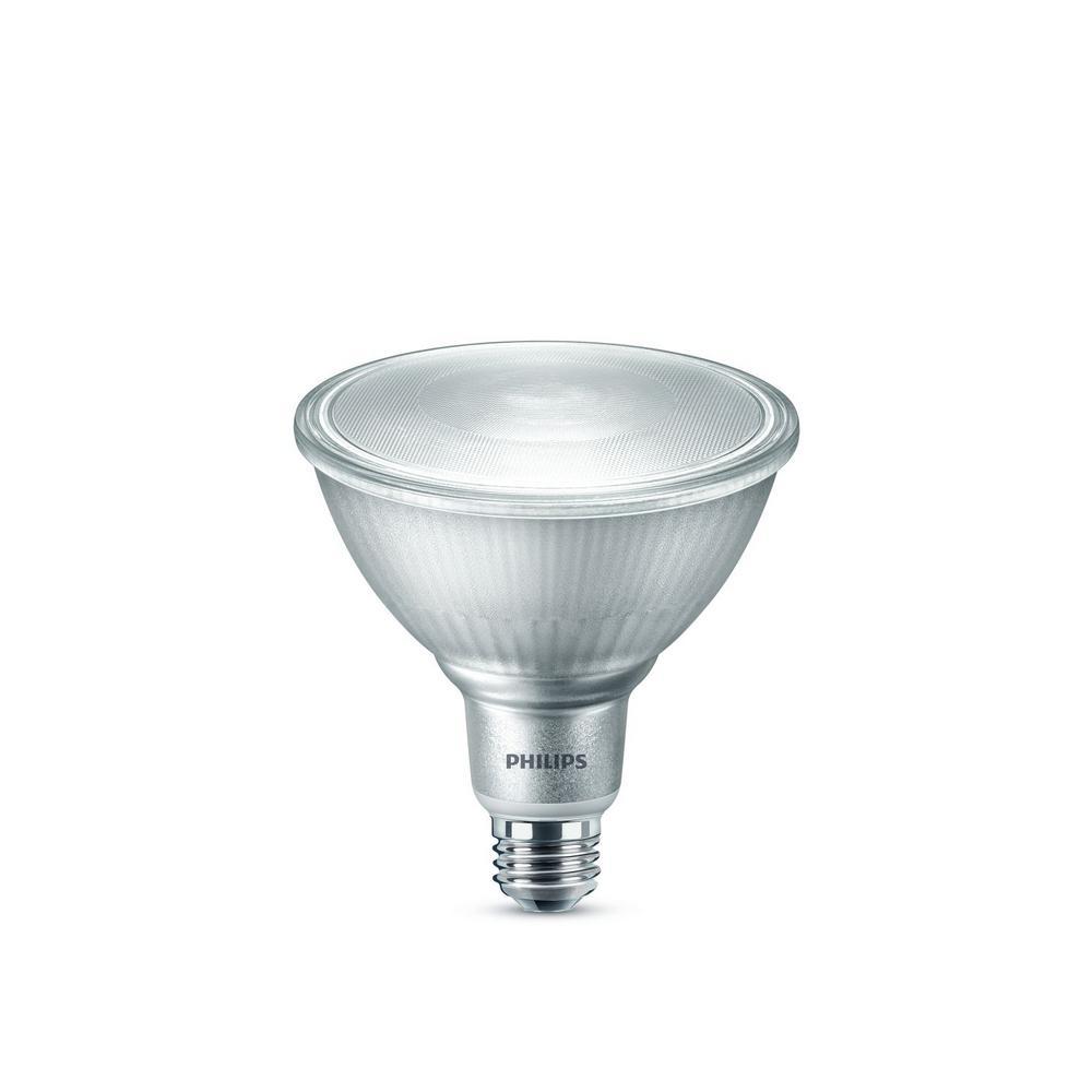 Philips Philips 250-Watt Equivalent PAR38 Dimmable High Lumen LED Flood Light Bulb Bright White (5000K) (1-Pack)