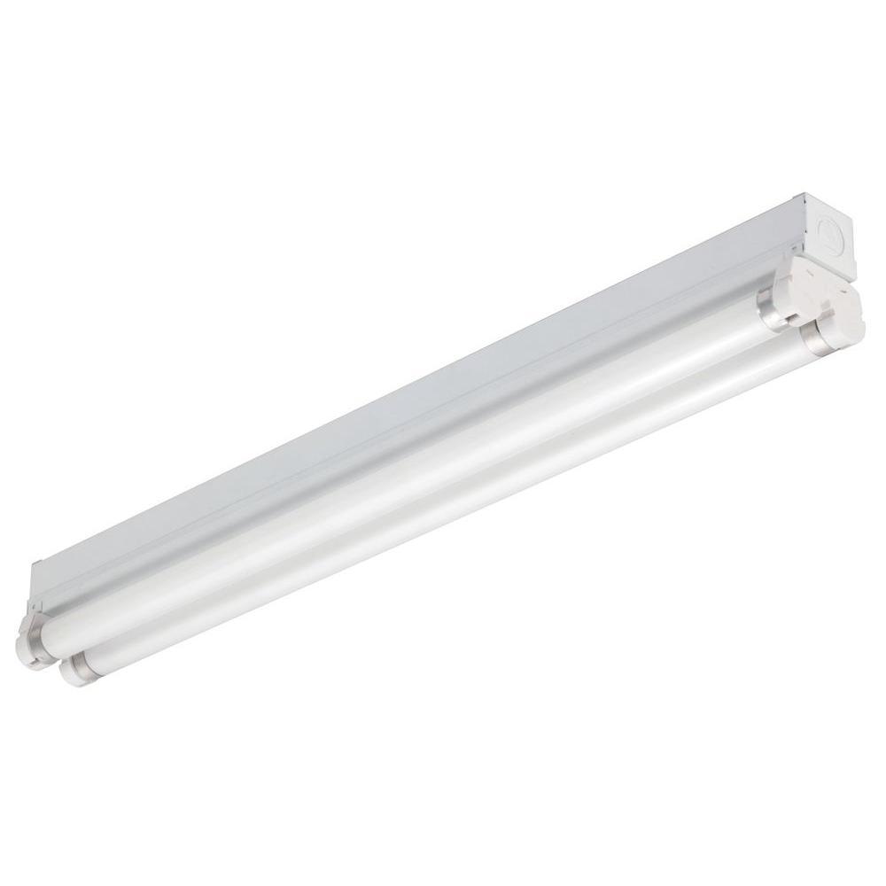 Lithonia lighting 2 ft 2 light gloss white t8 fluorescent strip lithonia lighting 2 ft 2 light gloss white t8 fluorescent strip light mns8 2 17 120 re the home depot arubaitofo Images