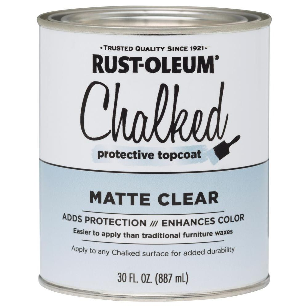 Chalked Clear Matte Interior Protective Topcoat