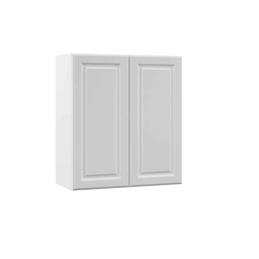 Elgin Assembled 27x30x12 in. Wall Kitchen Cabinet in White