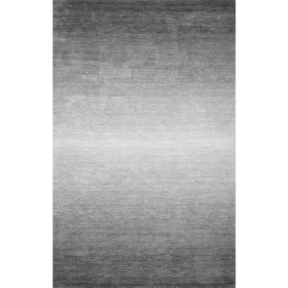 Bernatta Contemporary Ombre Gray 8 ft. x 10 ft. Area Rug
