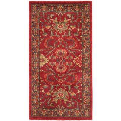 Red 2 X 4 Area Rugs The Home Depot