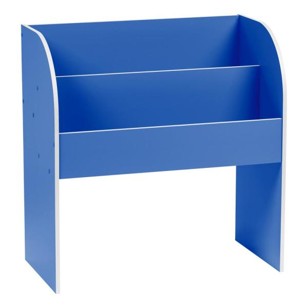 IRIS Kid's Blue Wooden Bookshelf