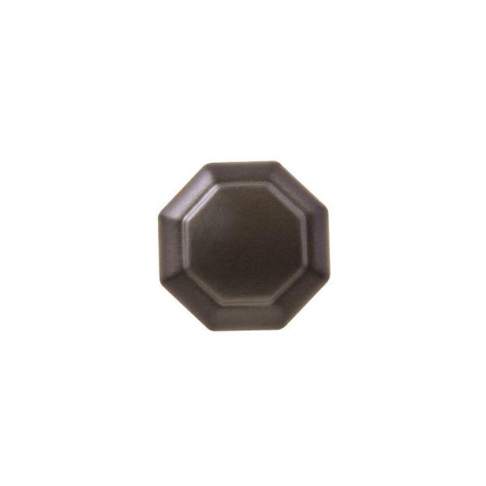 Octagon 1-1/8 in. Oil Rubbed Bronze Cabinet Knob