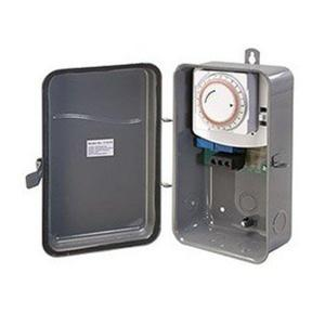 Westek 40 Amp 125-Volt Single Pole Single Throw Outdoor Mechanical Timer by Westek