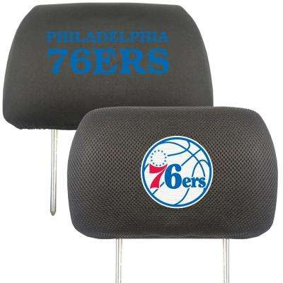 NBA - Philadelphia 76ers Embroidered Head Rest Covers (2-Pack)