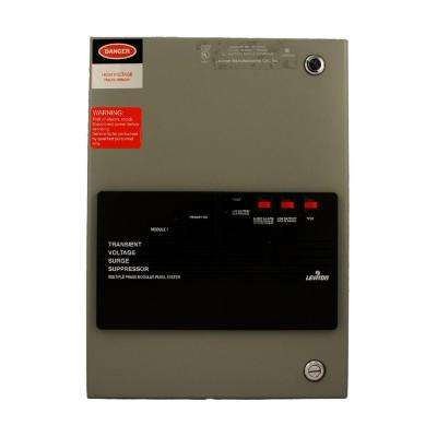 120-Volt-Single Phase Surge Panel with Replaceable Surge Modules, Gray