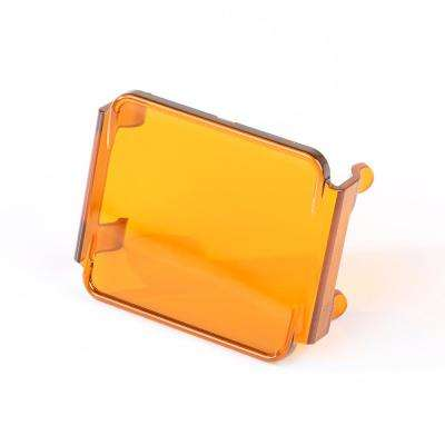 Square LED Light Cover Amber