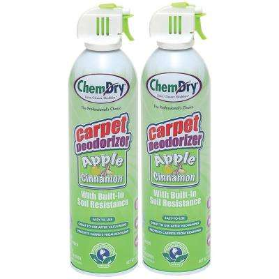 Apple Cinnamon Scented Carpet Deodorizer (2-Pack)