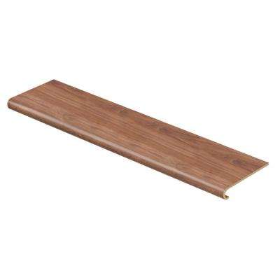 Toffee Hickory 94 in. Length x 12-1/8 in. Deep x 1-11/16 in. Height Laminate to Cover Stairs 1 in. Thick